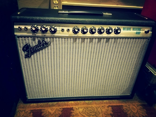 2018 Fender '68 Custom Deluxe Reverb Silverface, Excellent, Original Soft, $799.00