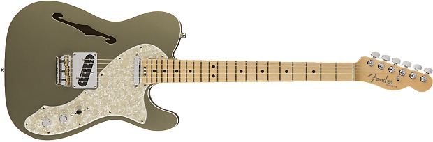 2018 Fender American Elite Telecaster Thinline Champagne, Brand New, Hard, $1,999.99