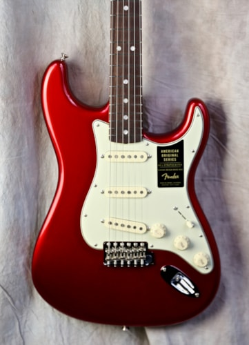 2018 Fender American Original 60's Stratocaster Candy Apple Red, Brand New, Original Hard