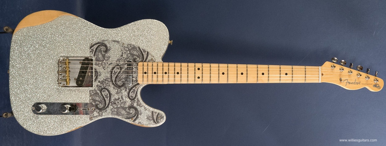 2018 Fender Brad Paisely Road Worn Telecaster Silver Sparkle, Brand New, GigBag, $1,199.99