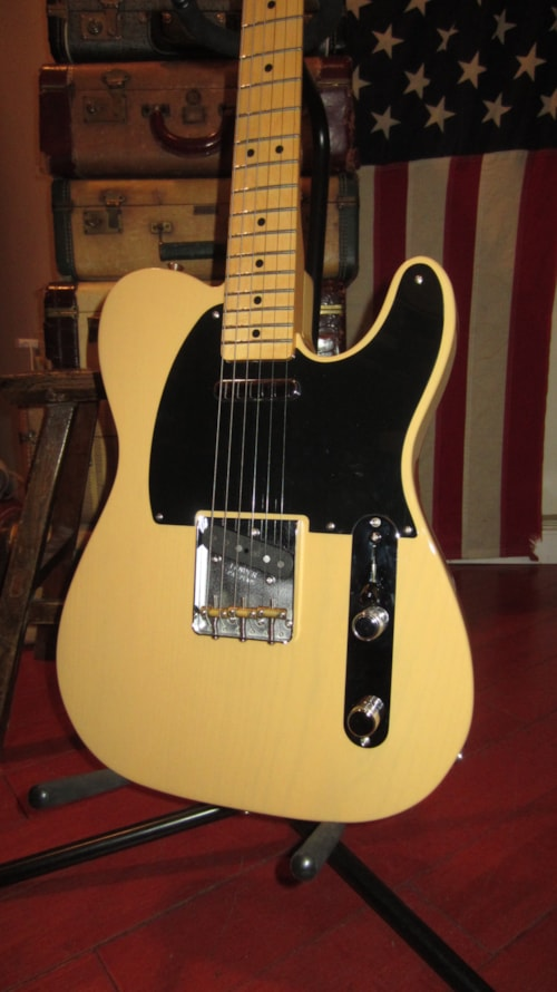 2018 Fender Classic Player Baja Telecaster Blonde