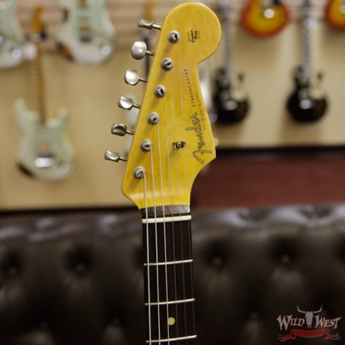 2018 Fender Custom Shop 1962 Stratocaster HSS EVH Pickup Relic Rosewood Fingerboard Aztec Gold Aztec Gold, Brand New