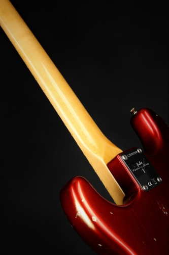 2018 FenderCustom Shop 1968 Relic Stratocaster - Faded Aged Candy Apple Red (1968 reissue)