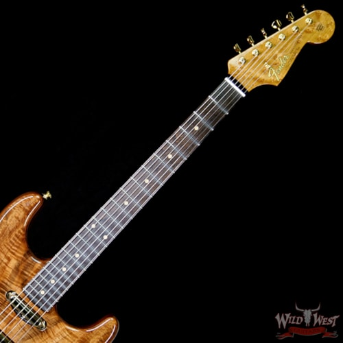 2018 Fender Custom Shop 2018 Fender Custom Shop Masterbuilt Dennis Galuszka Artisan Claro Walnut Str