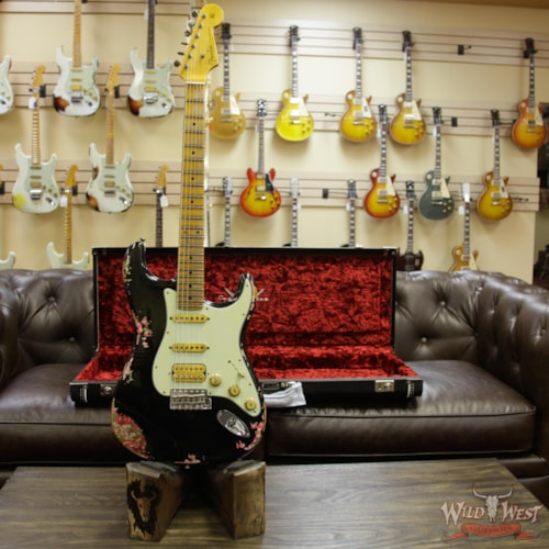 Astonishing 2018 Fender Custom Shop Black Lightning 2 0 Stratocaster Gmtry Best Dining Table And Chair Ideas Images Gmtryco
