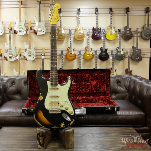 Fine 2018 Fender Custom Shop Black Lightning 2 0 Stratocaster Gmtry Best Dining Table And Chair Ideas Images Gmtryco