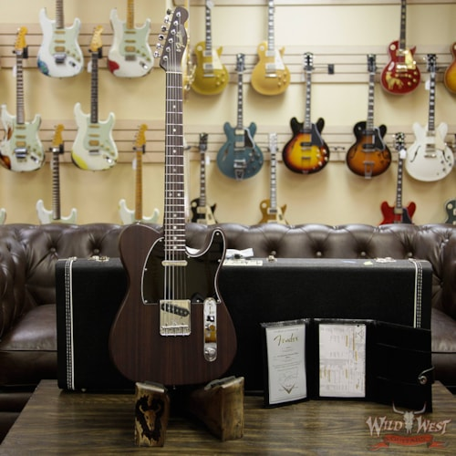 2018 Fender Custom Shop Jason Smith Masterbuilt Rosewood 60's Telecaster Natural Natural, Brand New, $6,399.00
