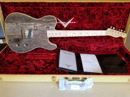 2018 Fender Esquire -- Front Row Legend -- Hollywood Bowl Guitar - Seat # 5