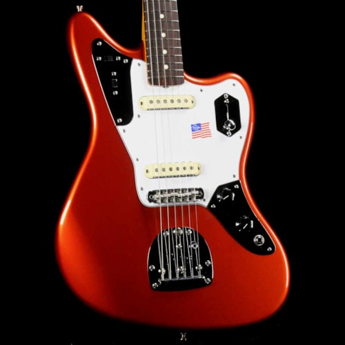 2018 Fender Johnny Marr Signature Jaguar Metallic KO 2018 Excellent $1,439.00