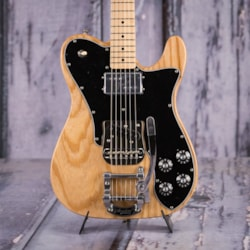 2018 Fender Limited Edition '72 Tele Custom With Bigsby, , Natural