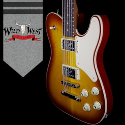 Fender Limited Edition Parallel Universe Troublemaker Tele Deluxe with Rosewood Fingerboard  Ice Tea Burst