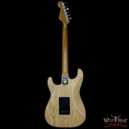 2018 Fender LTD Summer Event #57 1962 Stratocaster Roasted Flame Maple Neck Journeyman Relic Aged Natural Aged Natural, Brand New