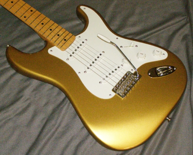 2018 Fender Stratocaster American Original '50s - MINT! Aztec Gold, Mint, Original Hard