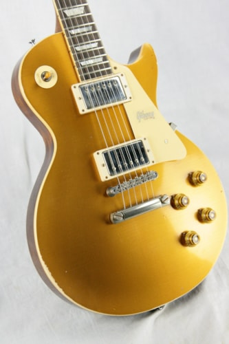 2018 Gibson 1957 HEAVY AGED Goldtop Les Paul Historic Reissue! R7 57 8.9 lbs!