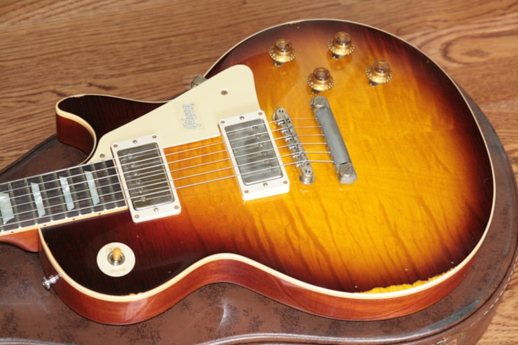 2018 Gibson 1959 HEAVY AGED Bourbon Burst Les Paul Reissue! R9 59 Historic Custom Shop