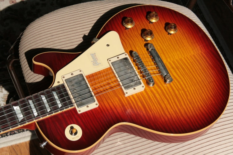 2018 Gibson 1959 Les Paul Historic Reissue! R9 59 LP Standard Cherry Sunburst Custom Shop TH Spec Excellent $5,499.00