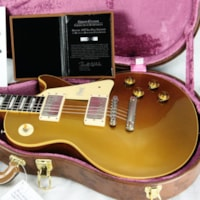 2018 Gibson BRAZILIAN ROSEWOOD 1957 Les Paul Goldtop Historic Reissue! 57