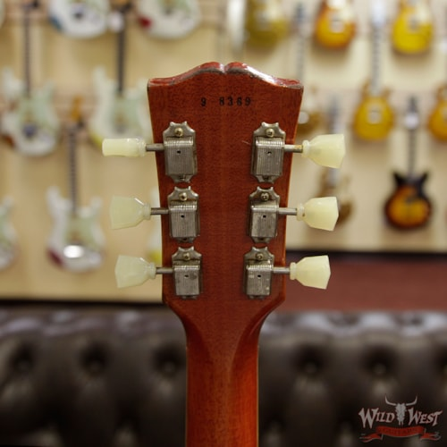 2018 Gibson Custom Shop 1959 Les Paul Aged R9 Hand Selected Killer Top Brazilian Rosewood Board Vintage Cherry 8.15 Lbs Vintage Cherry