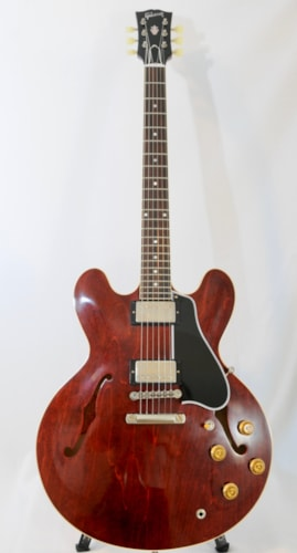 2018 Gibson Custom Shop '59 RI ES-335 CME BRAZ Oxblood, Mint, $4,899.00