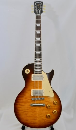 2018 Gibson Custom Shop '59RI Ltd Ed BRAZILIAN BOARD LP CME Version VOS Iced Tea, Mint, $6,299.00