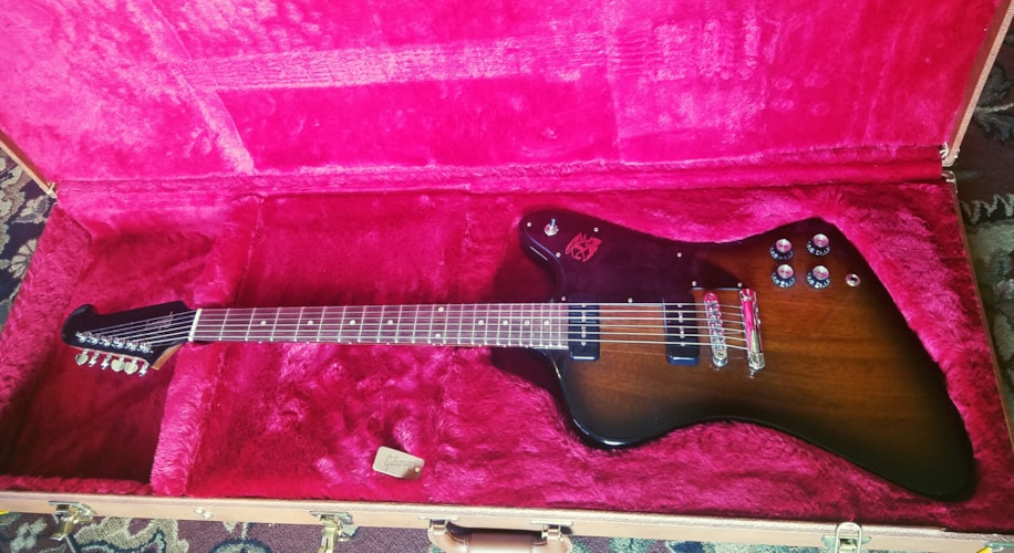 2018 Gibson Firebird Studio Vintage Sunburst, Excellent, Original Hard, $999.00