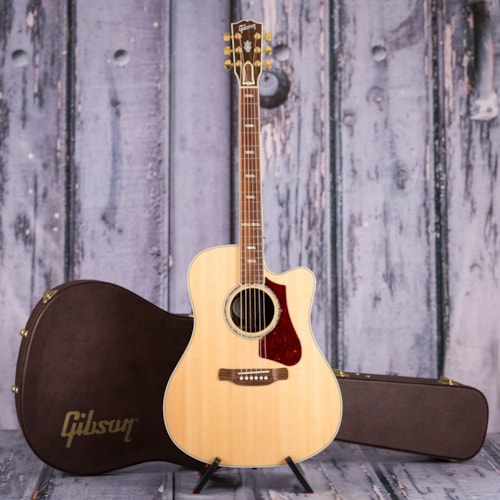 Used Gibson 2018 Montana Hummingbird Supreme Acoustic/Electric, Antique Natural