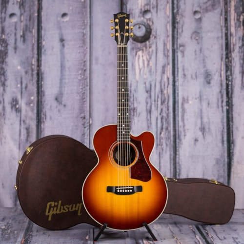 Gibson 2018 Montana Parlor Rosewood AG Acoustic/Electric, Rosewood Burst