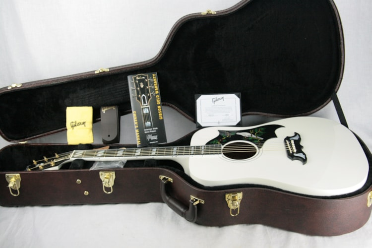 2018 Gibson Montana WHITE DOVE! Limited Edition Acoustic Guitar! hummingbird j45 Excellent $3,299.00
