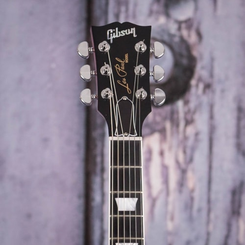 Used 2018 Gibson USA Les Paul Signature Player Plus, Transparent Red