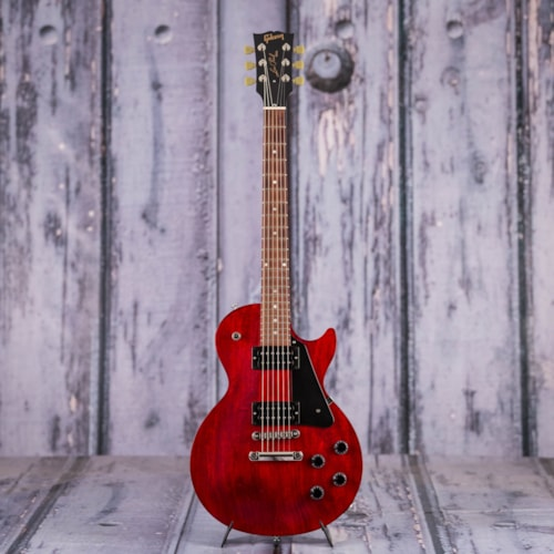 Used 2018 Gibson USA Les Paul Faded, Worn Cherry