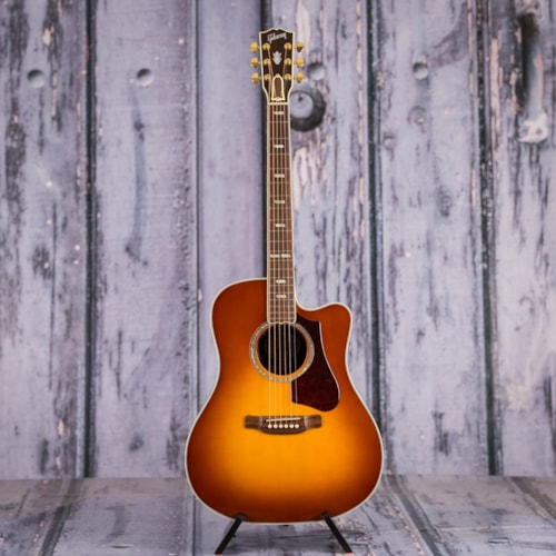 Used 2018 Montana Gibson Hummingbird Supreme AG Acoustic/Electric, Rosewood Burst