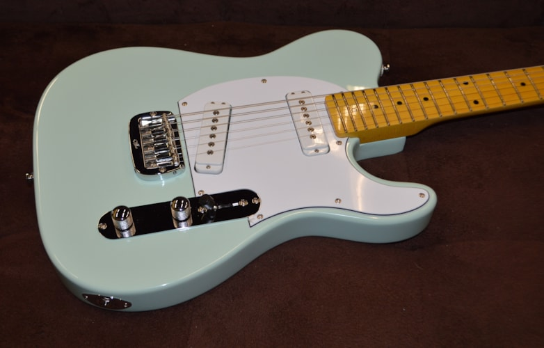 2018 G&L Tribute ASAT Special Surf Green, Brand New, $499.99