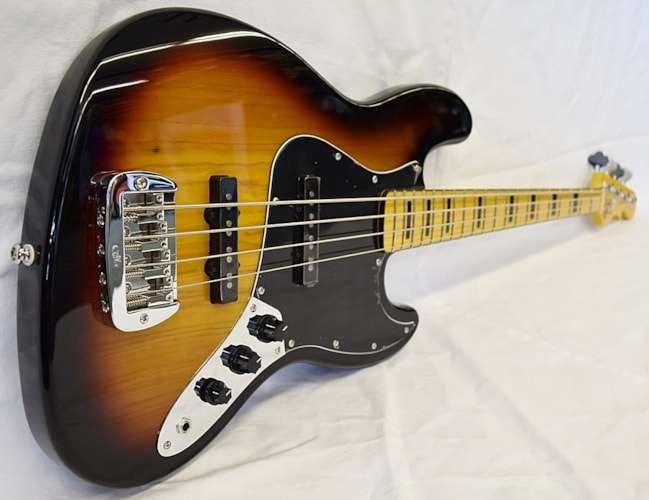 2018 G&L Tribute JB 3-tone Sunburst, Brand New, $549.99