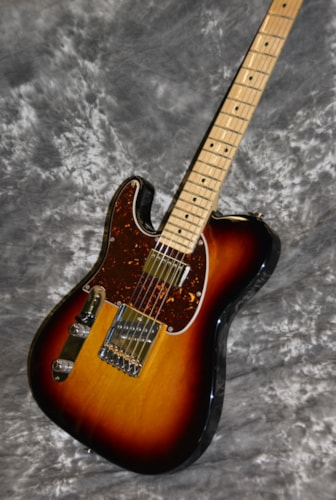 2018 G&L USA ASAT Classic Bluesboy LEFTY 3-Tone Burst, Brand New, Hard