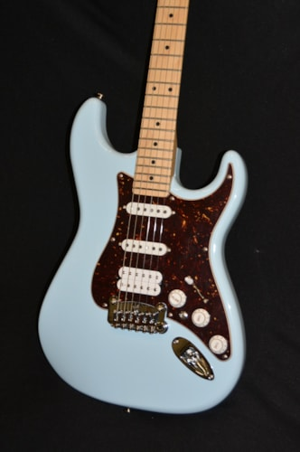 2018 G&L USA Legacy HSS Sonic Blue, Brand New, Hard