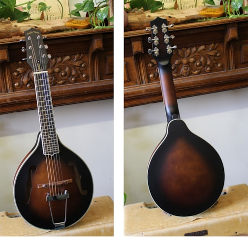 2018 Goldtone A-6 Guitar Mandolin  Sunburst, Brand New, Original Hard