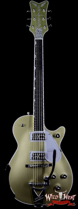 2018 Gretsch G6134T Limited Edition Penguin with Bigsby Ebony Fingerboard Casino Gold