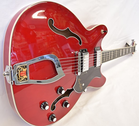 Hagstrom Viking Wild Cherry Transparent