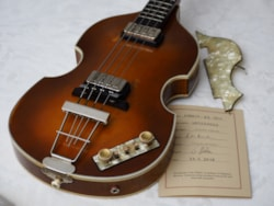2018 Hofner Gold Label 500/1 '63 Relic