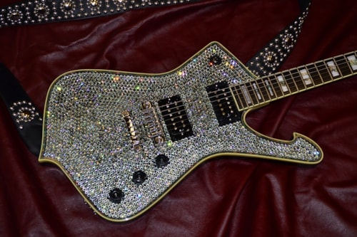 2018 Ibanez Black Diamond Rhinestone (2018 reissue) Swarovski Black Diamond Rhinestones