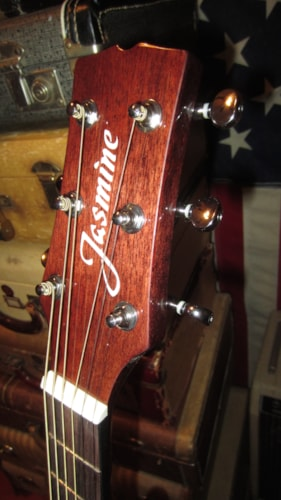 2018 Jasmine JD36CE Acosutic Electric Dreadnought w/ Cutaway Natural, Brand New