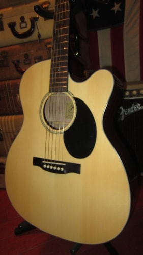 2018 Jasmine JO36CE Acoustic Electric Orchestra Size Natural, Brand New