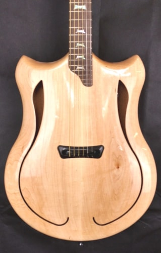 2018 Jon Kammerer Customs Pegasus Double cutaway acoustic Natural finish, Brand New, Original Soft, $2,100.00