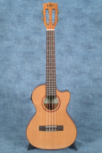 2018 Kala KA-ATP-CTG-CE SOLID CEDAR TOP WITH ACACIA BACK AND SIDES TENOR CUTAWAY UKULELE, WITH PICKUP $379.99
