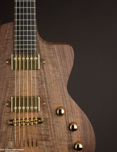 2018 Lowden GL-10 Walnut Electric Guitar () Brown