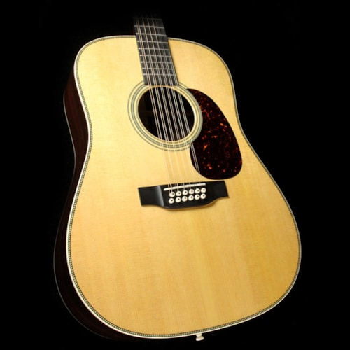 2018 Martin 2018 HD12-28 12-String Dreadnought Acoustic Natural Brand New