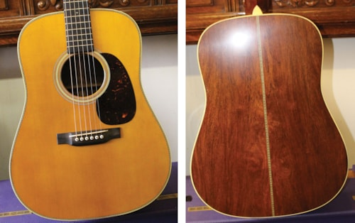 2018 MARTIN  D-28  Authentic 1937 (1937 reissue) Aged