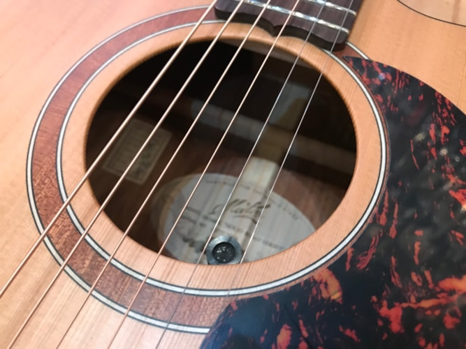 2018 Maton Solid Road Series SRS808c Acoustic Electric Guitar Natural, Brand New, Hard