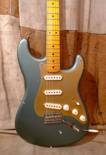 2018 Nash S-57 Strat Teal Blue Gold Guard, Brand New, Original Hard, $2,165.00