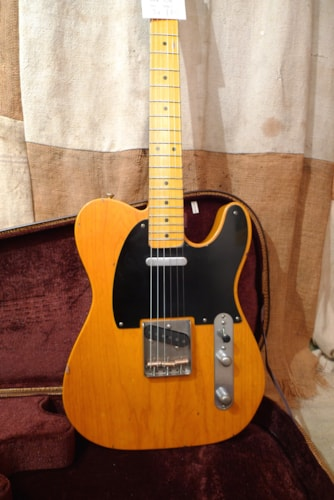 2018 Nash T-52 Telecaster Amber, Brand New, Original Hard